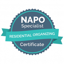 Residential Organizing badge