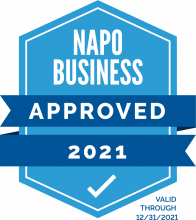 2021 NAPO Business Stamp of Approval
